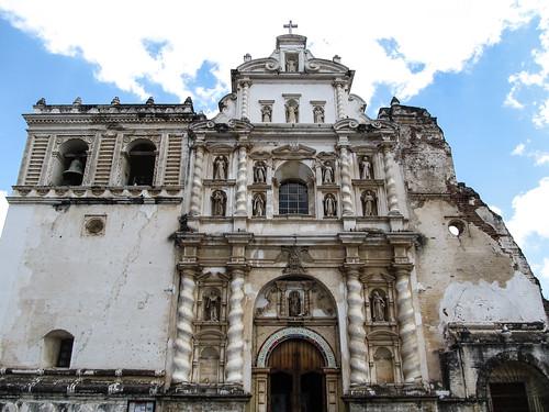 Antigua: l'église San Francisco