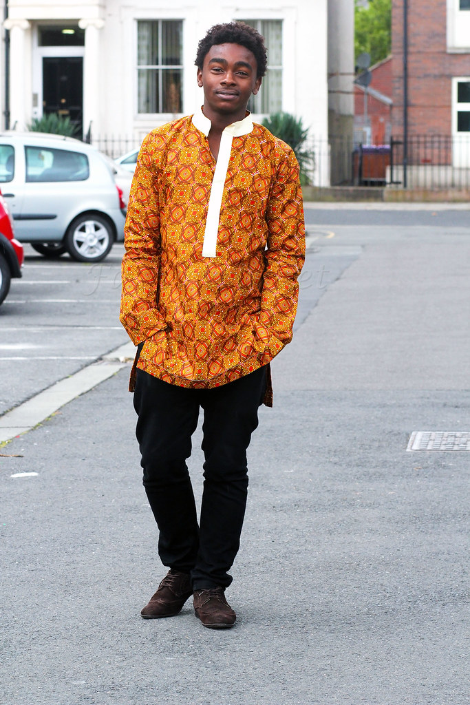 mens-brown-shoes-ankara-long-kaftan-shirt