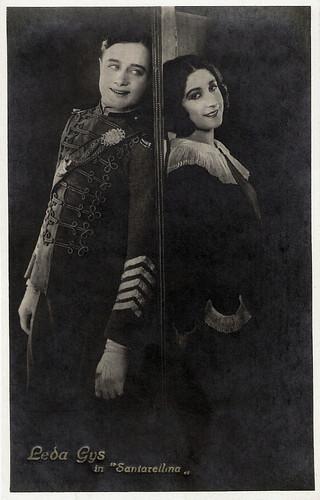 Silvio Orsini and Leda Gys in Santareilina (1923)