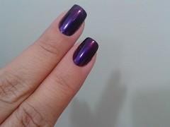 Comparação Plum Paradise x Mistery Purple