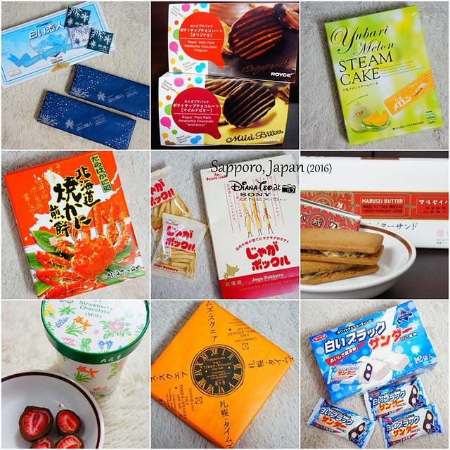 25 Must Buy Snacks & Confectionaries from Hokkaido