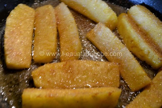 Ananas Caramélisés & Flambés © Ana Luthi Tous droits réservés 005