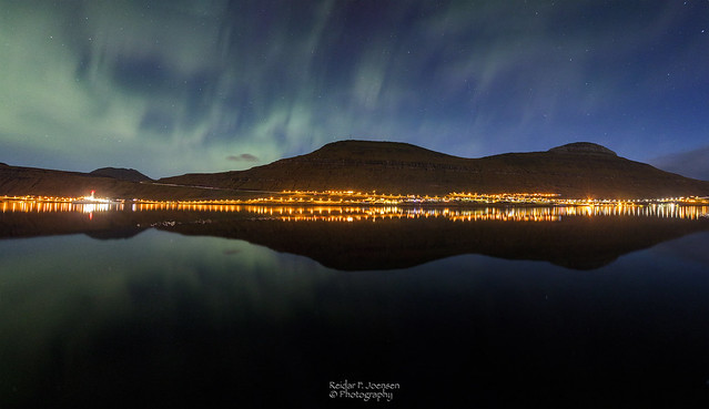 Skálafjørðurin í Norðlýsið
