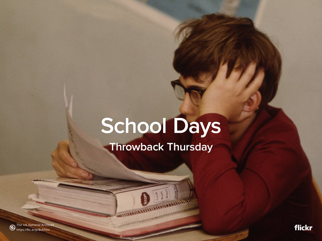 Throwback Thursday: School Days