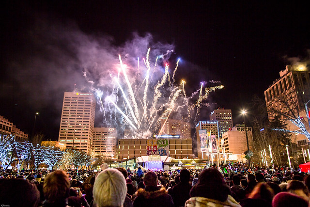 Edmonton New Year 2016