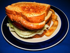 Grilled Swiss Cheese HamBurger