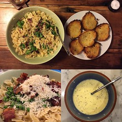 #PastaCarbonara for dinner!