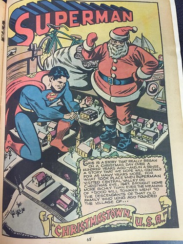 """Christmas with the Super-Heroes"", DC Comics, 1975 (23)"
