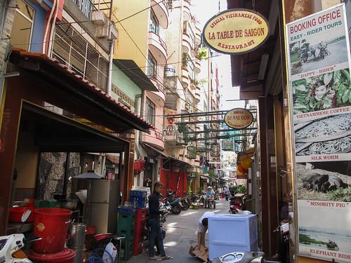 Ho Chi Minh Ville: notre quartier