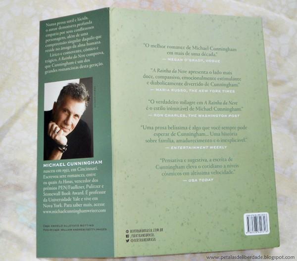 Resenha, livro, A rainha da neve, Michael Cunningham, Pulitzer, Bertrand, quotes, trechos