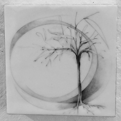 Graphite and wax on board 6
