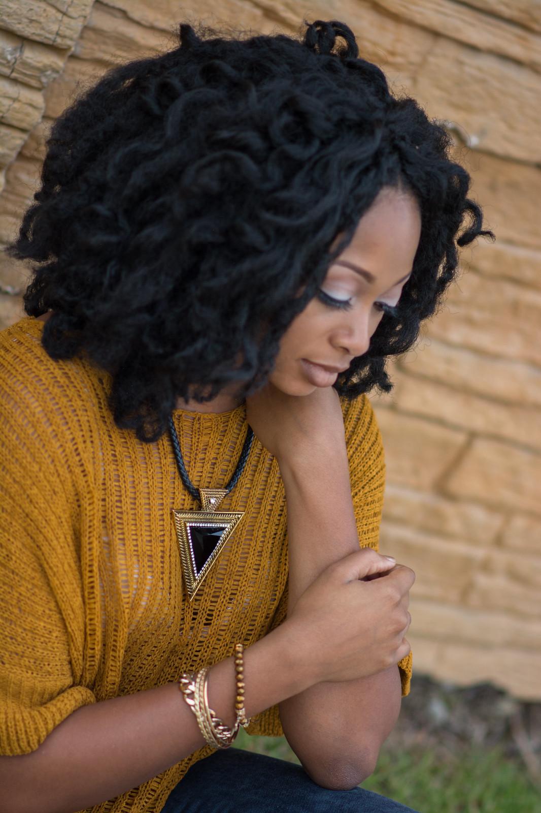 marley hair afro louisiana beauty blogger