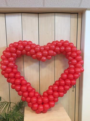 Ballonnenhart Valentijndisco C.B.S. De Bron Spijkenisse