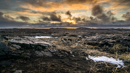 travel sky orange cliff mountain snow black nature clouds contrast sunrise landscape geotagged photography lava is photo iceland rocks europe outdoor sony fullframe onsale a7 southernpeninsula sony2470 sonya7 sonyfe2470
