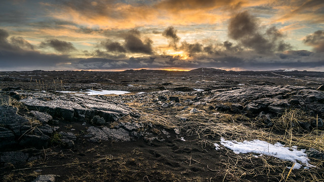 Sunrise in Southern Peninsula - Iceland - Landscape photography
