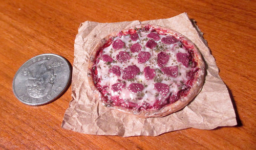 Mini Polymer Pizza