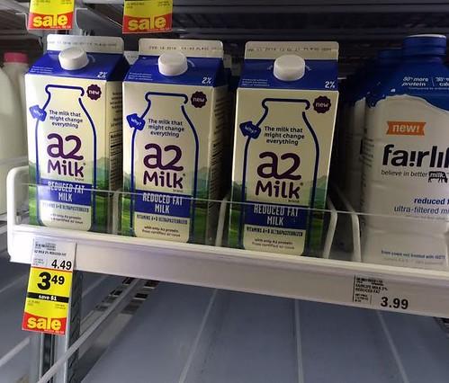 a2 half gallon milk