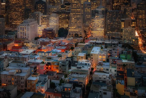 "San Francisco from the book ""A Heartbreaking Work of Staggering Genius (2000)"" by Dave Eggers"