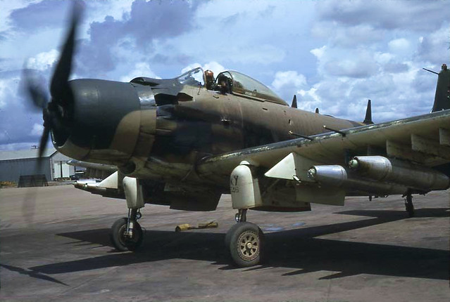 Vietnam Air Force - Bien Hoa Aug 1967