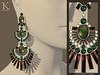 (Kunglers) Shani earrings V3- peridot