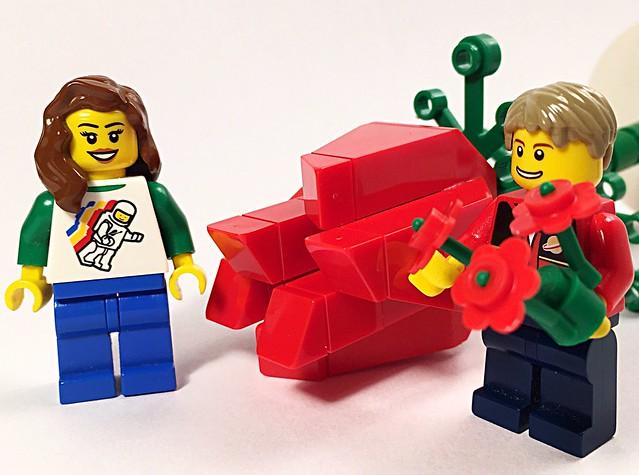 Happy Valentine's Day #Lego