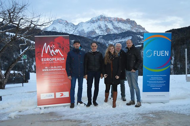 EUROPEADA 2016 preparatory visit in South Tyrol 9-12 February 2016