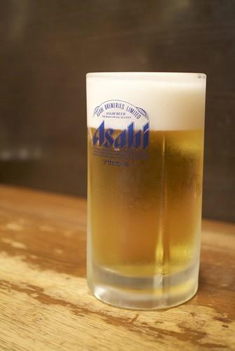 上野_たきおか_ビール