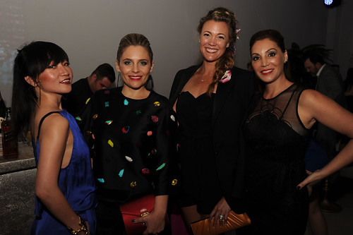 Lexing Zhang, Angie Ferrer Domecq, Nikki Noya, & Soledad Lowe at PAMM Art of the Party