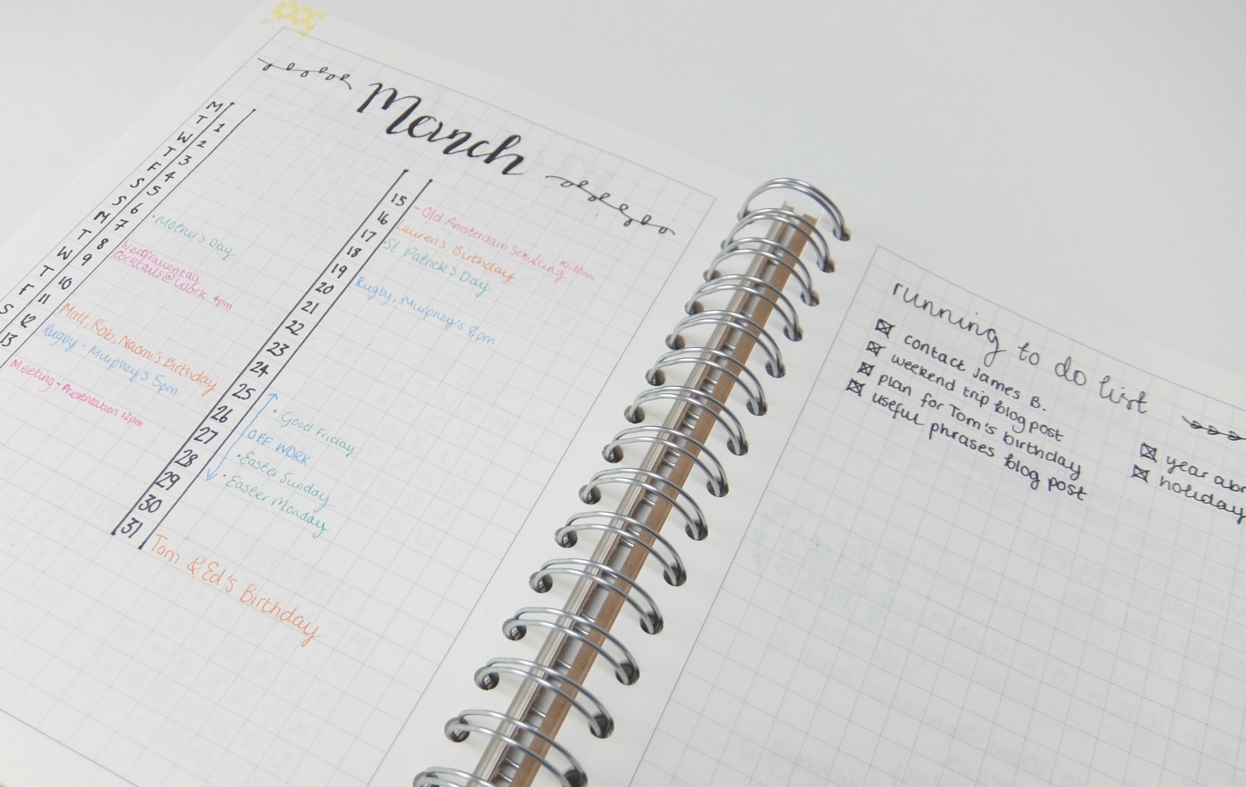 Starting a bullet journal | www.hannahemilylane.com