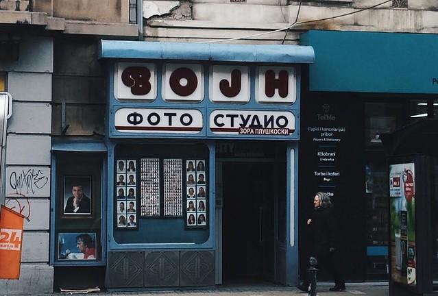 In Belgrade, Serbia