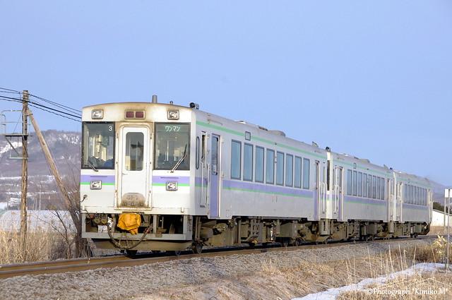 富良野線下り一番列車