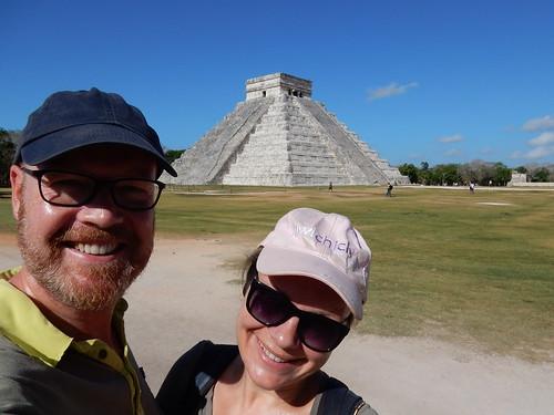 Mexico - Yucatan - Chichen Itza - El Castillo en wij