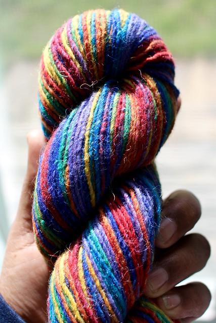 Cascade Casablanca Rainbow yarn
