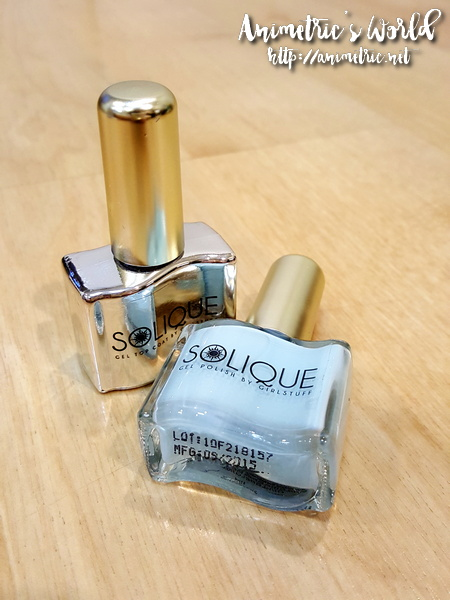 Girlstuff Solique Gel Nail Polish