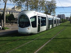 Trams de Lyon (France) trams modernes
