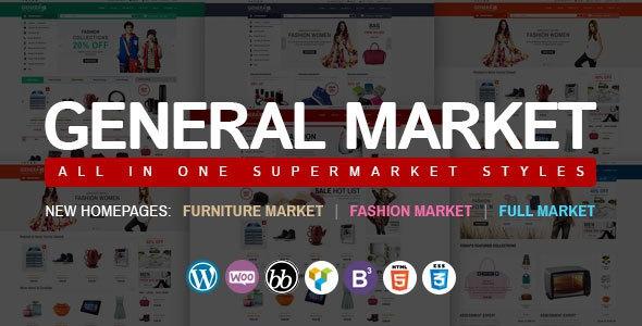 WP General Mart eCommerce Websites v1.0.1