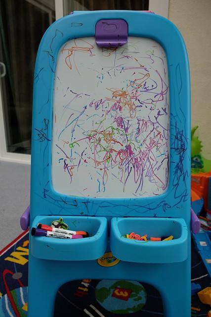 Dry Erase Board / Easel - Melanie