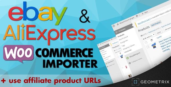 Ebay & Aliexpress WooCommerce Importer v2.2.0