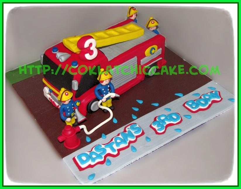 Cake Firetruck fr
