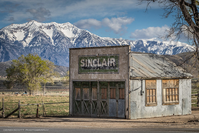The old Sinclair Station