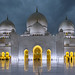 Abudhabi Grand Mosque by stefan.lafontaine