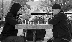 Chess Game at Dupont Circle