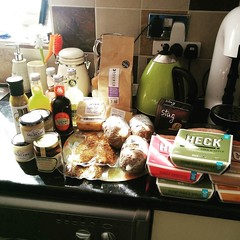 Goodies from the Good Food Show # haggis #coffee #…