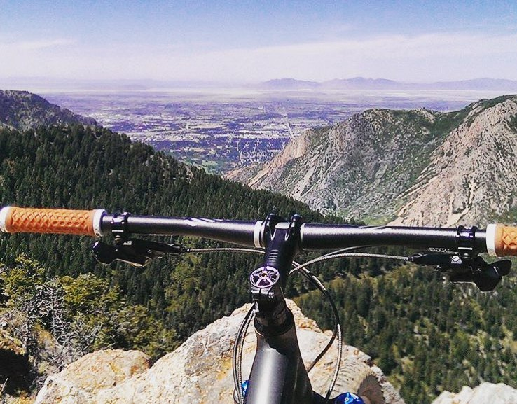 Snowbasin mountain biking