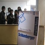 Kshitij 2012 at IIT Kharagpur:  The booth of Vive Les Robots!