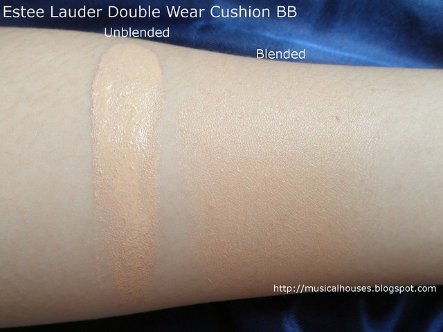 Estee Lauder Double Wear Cushion BB Bone Swatch