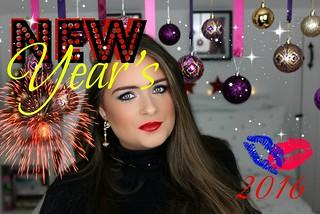 New Year's Eve Makeup thumbnail 1