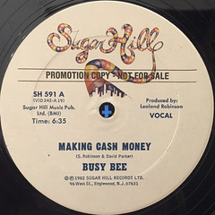 BUSY BEE:MAKING CASH MONEY(LABEL SIDE-A)