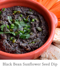 Black Bean & Sunflower Seed Dip