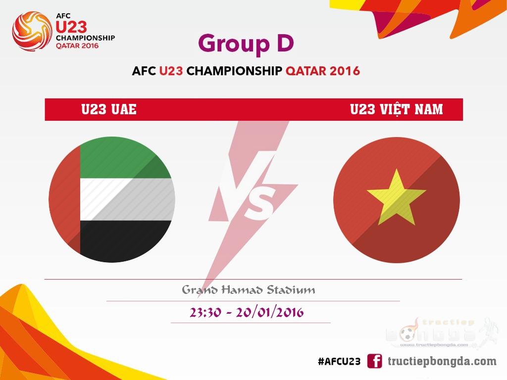 Xem lại: U23 UAE vs U23 Việt Nam